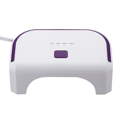 Docooler 100-240V 12W Led Nail Dryer Curing Lamp Machine For Uv Gel Nail Polish Nail Art Tool Everlasting