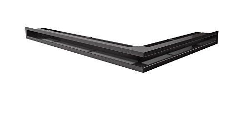 Kratki Lüftungsgitter Kamingitter Eck-Luft schwarz 766mm x 547mm x60mm günstig kaufen