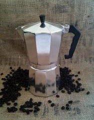 HDS Kitchen EM00328 6c Stovetop-Tabletop-Espresso Maker