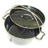 UNIFLAME ユニフレ ダッチオーブン10インチスーパーディープ&火持ちの良い特製岩手なら切炭6kg
