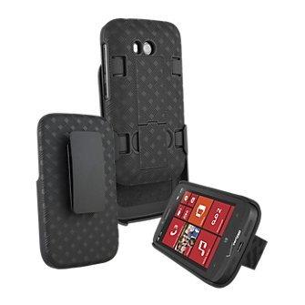 Oem Nokia Lumia 822 Shell Combo w/Holster & Kickstand from NOKIA