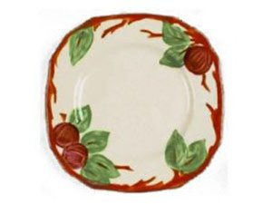 Franciscan Apple Square Salad Plate