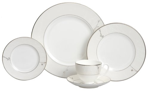 Waterford Fine China Lisette 5-Piece Place Setting, Service for 1 Pattern Fine China Japan
