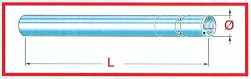 Fork tube Kawasaki ZX 1000, D=41mm L=604mm