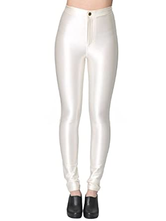 American Apparel The Disco Pant - Pearl / XXS