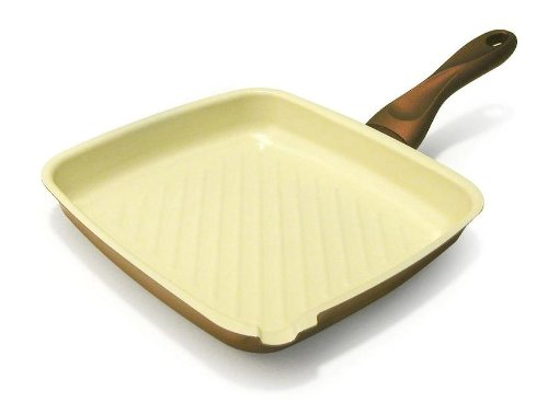 Ipac Mondo Bistecchiera in ceramica, 26 x 24 cm