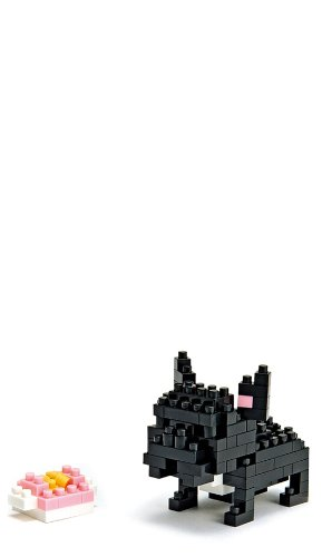 Nanoblock Architecture NBC-015 - French Bulldog