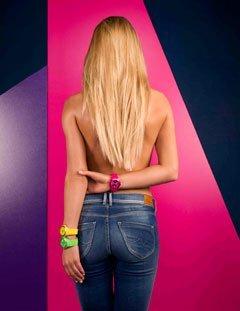 Mango Tutti Frutti Ladies Silicon Watch A68336-1GR12KV