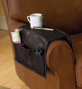 Remote Control Holder For Armchair Best Faux Leather Armrest Caddy 2012