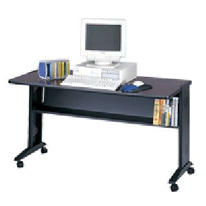 Buy Low Price Comfortable Safco 54″W Reversible Top Computer Desk (B002HMNNEO)