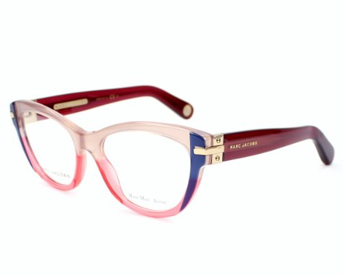 Marc Jacobs Eyeglasses Mj 512 Omp Acetate Blue - Burgundy