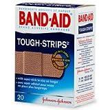 Band-Aid(R) Brand Flexible Fabric Tough-Strips™, Box Of 20