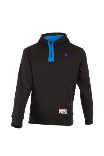 russell-athletic-maglione-uomo-classic-con-cappuccio-nero-schwarz-xxl