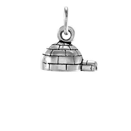 thecharmworks-sterlingsilber-iglu-charmanhanger-sterling-silver-igloo-charm
