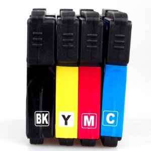 5 Pack INK Cartridges For BROTHER LC-61 LC61 MFC-290C