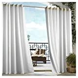 Outdoor decor Gazebo Indoor Outdoor Window Panels, 50 by 96, White