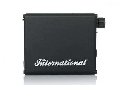 ALO audio The International ブラック DAC搭載ポータブルヘッドホンアンプ バランス伝送対応 ハイレゾ音源対応 ALO-1968