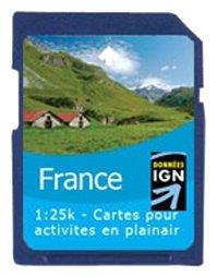 Satmap Carte GPS de la Corse Langue allemande