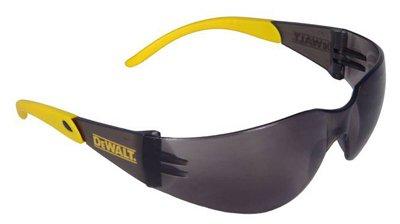 Radians DPG54-2C Protector Safety Glasses, Fit Men/Women, Smoke Lens