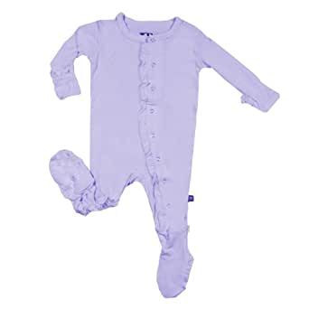 Kickee Pants Ruffle Footie in Lilac (18-24 Months)