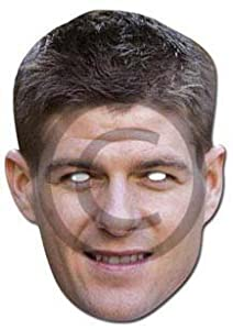 Steven Gerrard Celebrity Cardboard Mask - Single by Partyrama