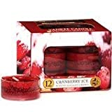 Yankee Candle Scented Tea Lights - Cranberry Ice