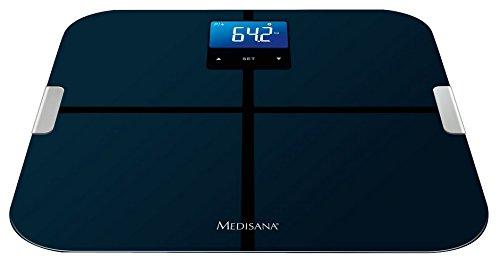Medisana BS 440 - Báscula de baño (LCD, 70 x 49 mm, 32 cm, 32 cm, 2,4 cm, AAA)