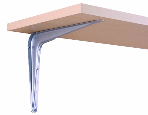 John Sterling RP-0026-8X10PM Utility Shelf Bracket, Platinum, 8-Inch by 10-Inch