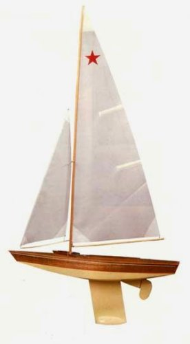 Buy Star Class Wooden Boat Kit by Dumas
