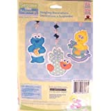 Sesame Street Beginnings Dangling Decorations 3 C