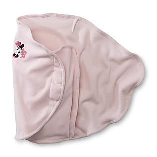 Disney Baby Pink Minnie Mouse Swaddler Blanket