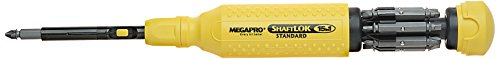 Megapro 151SL44 15-In-1 ShaftLok Driver, Yellow (Elevator Tools compare prices)