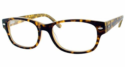 Eddie Bauer Designer Reading Glass Frames EB8212 in Tortoise Cream ; Demo Lens