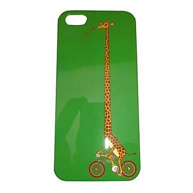 Cartoon Giraffe Riding Bike Phone Case [Customizable by Buyers] [Create Your Own Phone Case] Slim Fitted Hard Protector Cover for Samsung Galaxy S6