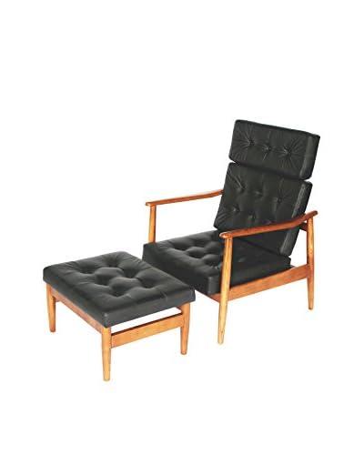 Manhattan Living VOD Lounge Set, Black