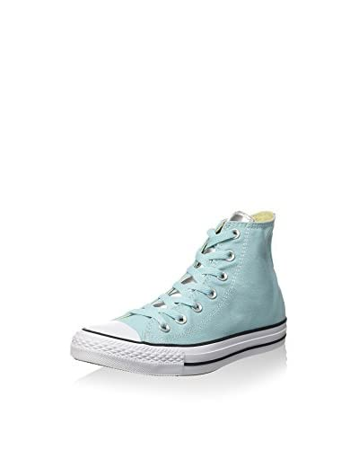 Converse Hightop Sneaker All Star Hi Canvas/Metal Silve azurblau