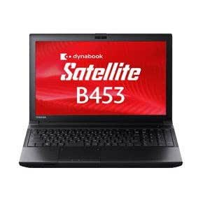 東芝 PB453MNB1R7HA71 dynabook Satellite Windows7Pro Celeron 1005M 4GB 320GB DVDスーパーマルチ 無線LAN Bluetooth