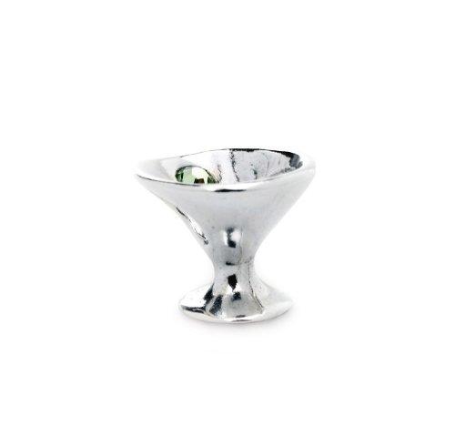 Novobeads Martini Silver w/ Crystals Charm Bead - Fits all major bead bracelets