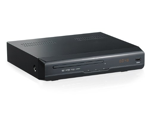 "auvisio Digitaler 3in1 HD-Sat-Receiver ""DSR-290.DVD"" m. DVD & Rec.Opt."