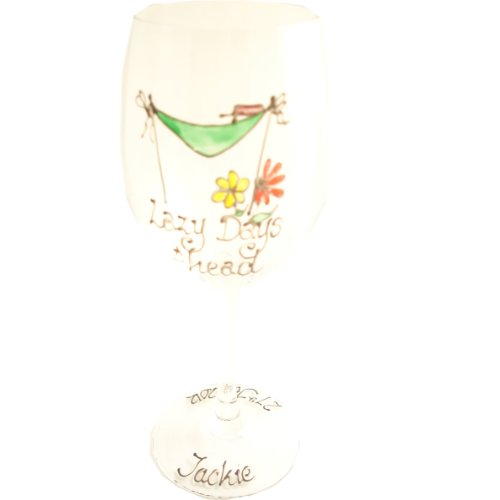 PERSONALISED Retirement Gift Wine Glass MAXIMUM 25 CHARACTERS