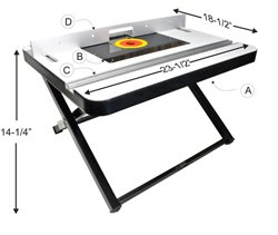 Portable router table and stand by peachtree woodworking pw3373 cheap portable router table and stand by peachtree woodworking pw3373 sale greentooth Gallery
