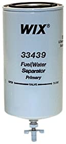 Wix 33439 Spin-On Fuel and Water Separator Filter, Pack of 1