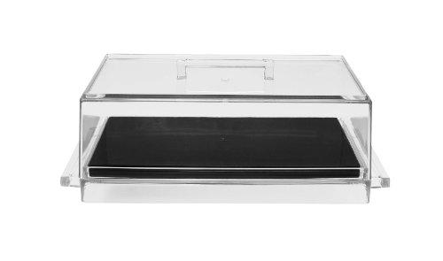 Zakdesigns 0439-830 Boîte à avec Planche à Découper Plastique Noir 45 x 35 x 25 cm
