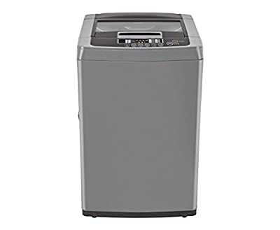 LG T7208TDDLH Top-loading Fully-automatic Washing Machine (6.2 Kg, Middle Free Silver)