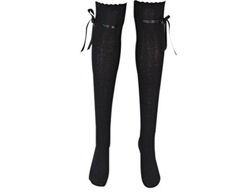 BONAMART ® Women Girls Sexy Winter Over Knee Thigh High Socks with Bow
