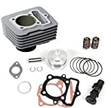 BBR Motorsports Repl Piston Kit for 120cc Big Bore Kt for Hon CRF100 XR100 81-12