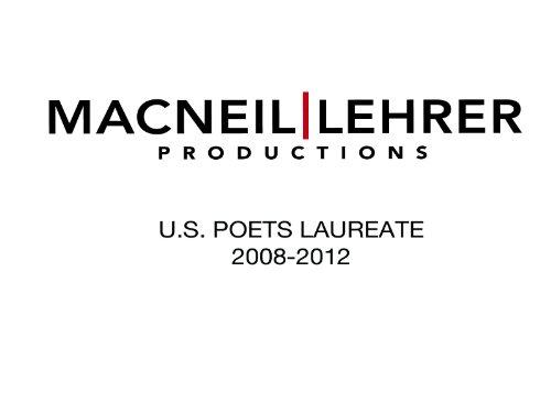 U.S. Poets Laureate 2008-2012