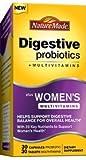 Nature Made Digestive Probiotics + Women's Multivitamins 30 Day Supply-60 ct