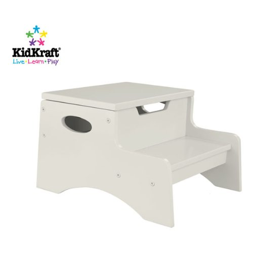 Kidkraft Step 'N Store Stool back-714786