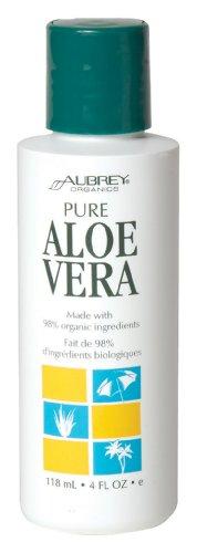 Aubrey Organics - 100% Pure Aloe Vera Gel, 4 fl oz gel